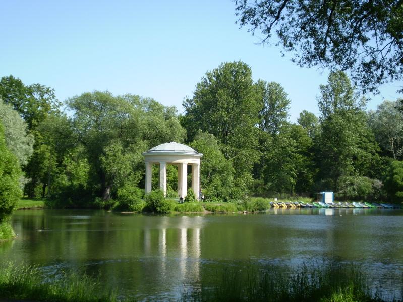 Беседка в парке фото