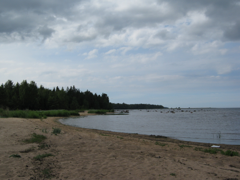 рыбалка финский залив копорская губа
